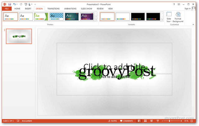 how to create own ppt template 2010