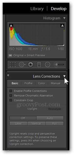 Lens Corrections in Lightroom and Photoshop lens correction distortion panel fix photography tab lens corrections
