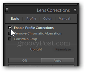 Lens Corrections in Lightroom and Photoshop lens correction distortion panel fix photography profile corrections