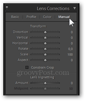 Lens Corrections in Lightroom and Photoshop lens correction distortion panel fix photography manual corrections