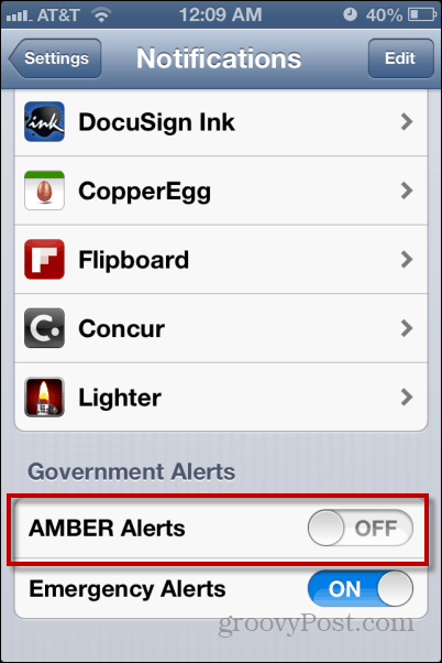turn off amber alert iphone how to turn alerts on an iphone 18098