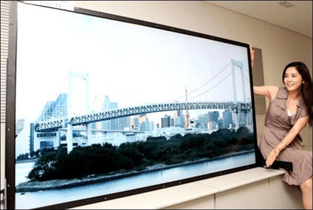giant 4k TV
