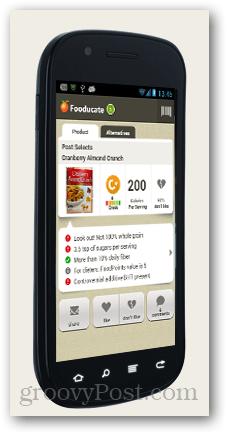 fooducate - demystify food labels
