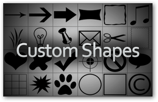 Photoshop Adobe Presets Templates Download Make Create Simplify Easy Simple Quick Access New Tutorial Guide Custom Shapes Vector Graphics Photoshop Insert Lossless Quality