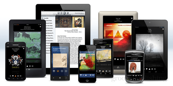 pandora on mobile devices