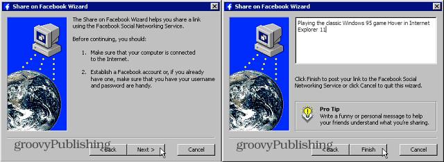 Classic Windows 95 Screens