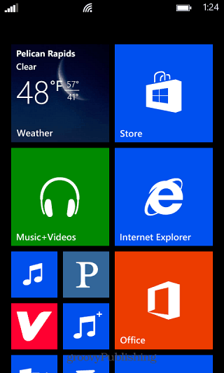 Windows Phone Home