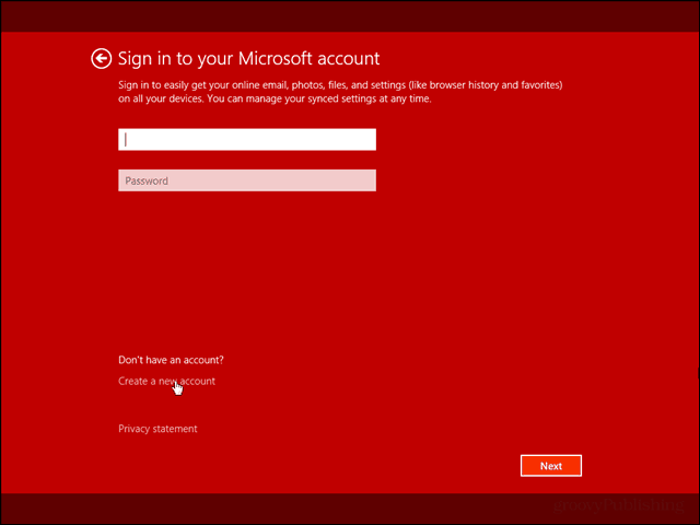 Install Windows 8.1 With a Local Account Only