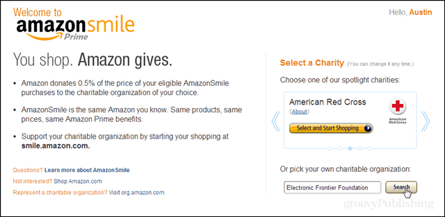 amazon smile intro