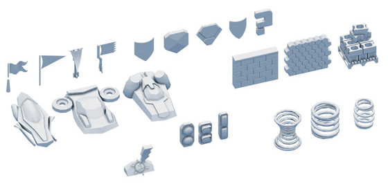 hover 3D models