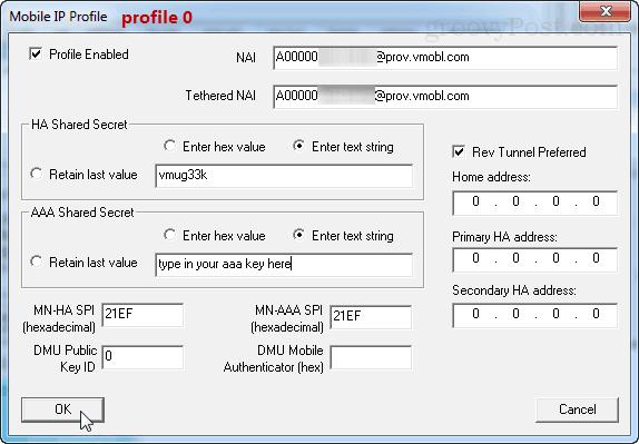 profile 0
