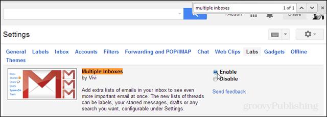 gmail labs