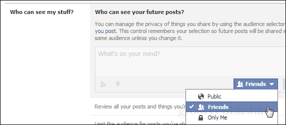 future posts are for friends, not the world