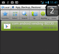 install from apk file
