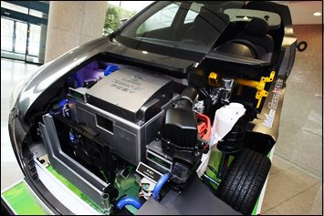 2014 Tucson Fuel Cell - FCEV Engine