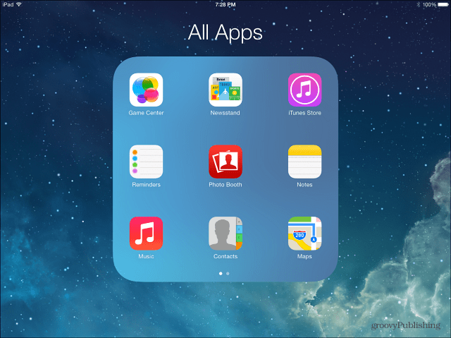 All Apps One Folder
