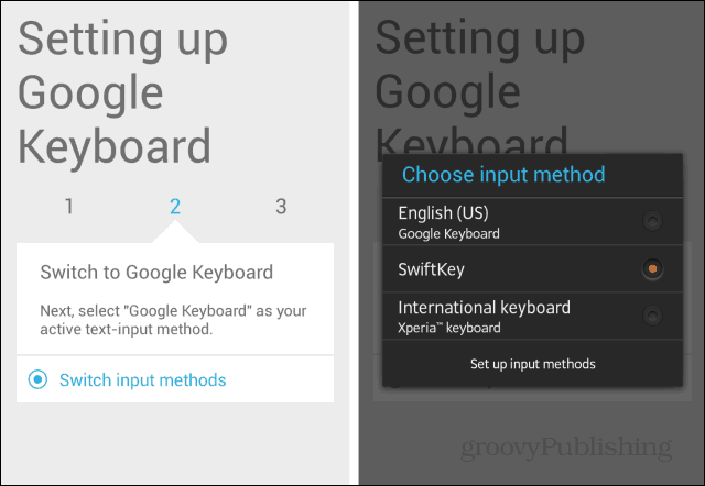 Android KitKat keyboard switch input