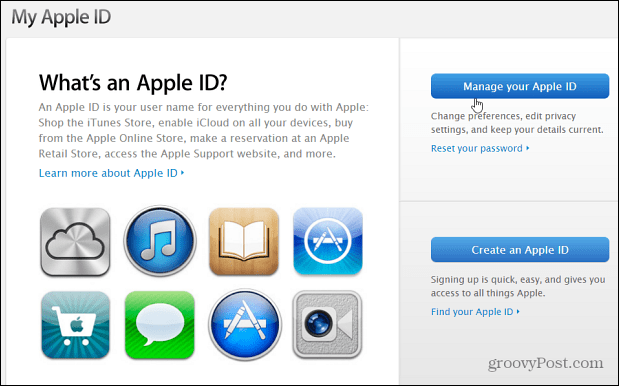 itunes app specific password