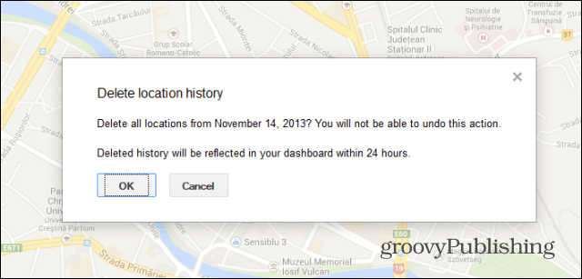 Google Location History