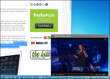 Picture in Picture Viewer for Chrome for Better Productivity