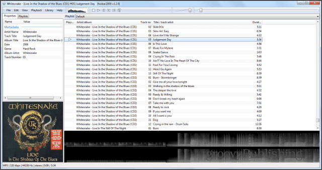 Winamp alternatives Foobar2000