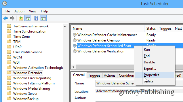 how to schedule windows defender for automatic scans in