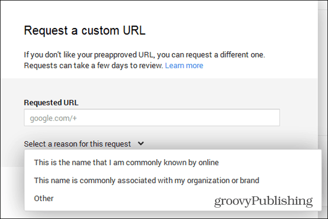 google  custom url request different why