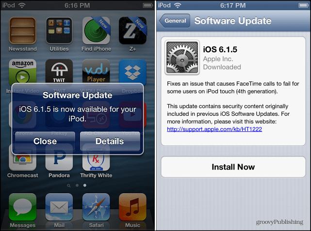 iOS 6.1.5 Update