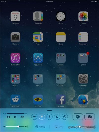 iPad Air iOS 7
