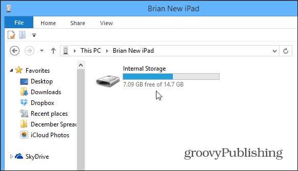 iPad Mini Space