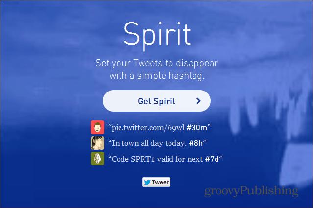 twitter spirit