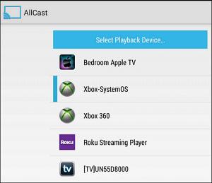 allcast not working on apple tv