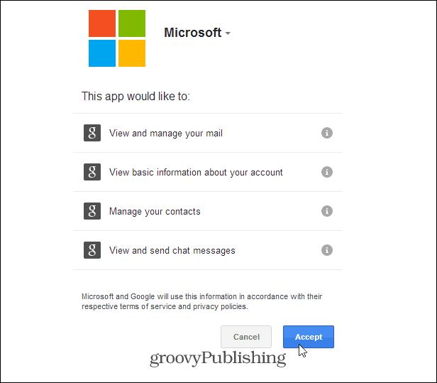 Allow Microsoft Permission
