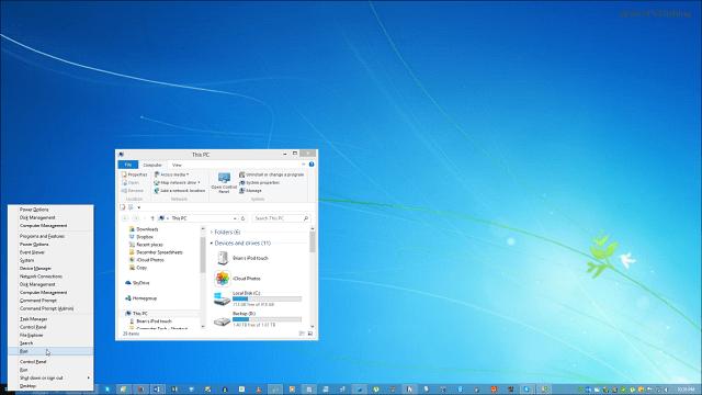 Windows 8.1 Desktop Background