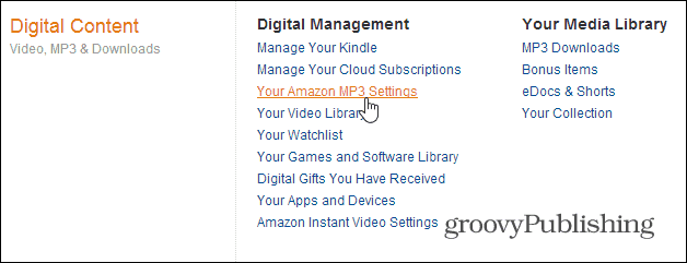 Deauthorize Devices from Amazon Cloud Player