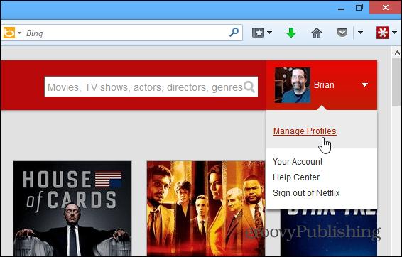 Manage Netflix Profiles