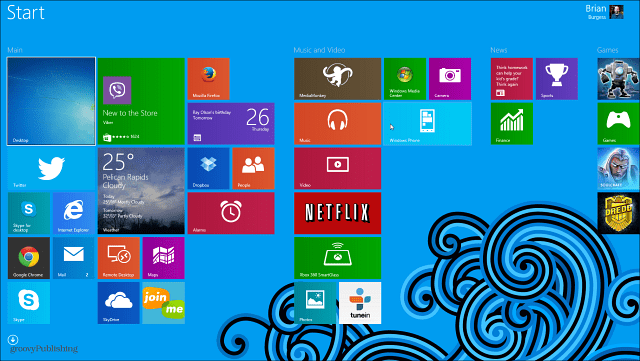 how to change background in windows 8 start menu
