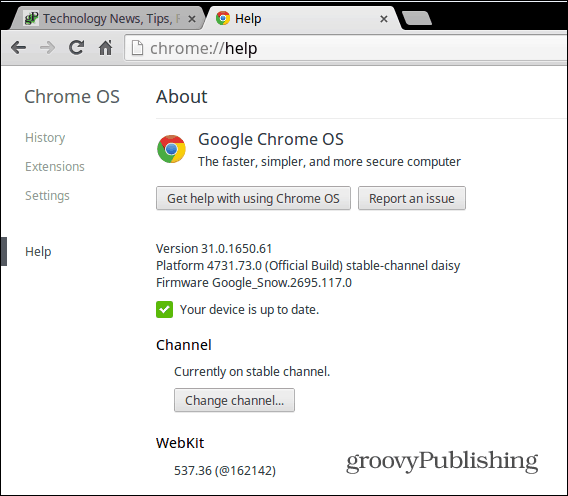 How to Manually Update Your Google Chromebook