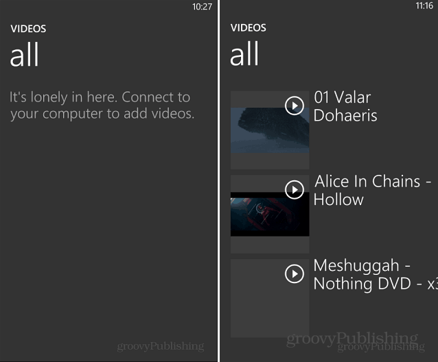 Windows Phone 8 Videos