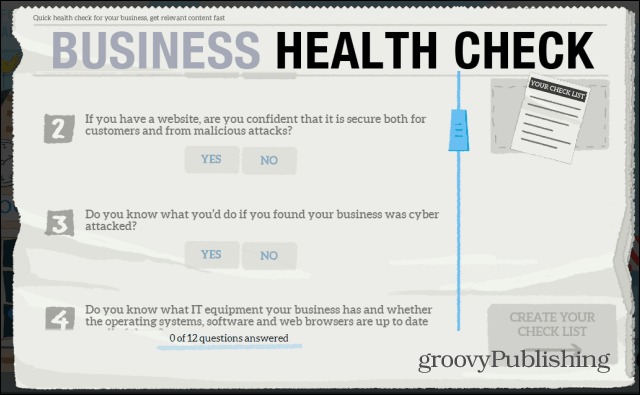 How to Create a Small Business Health Check Plan