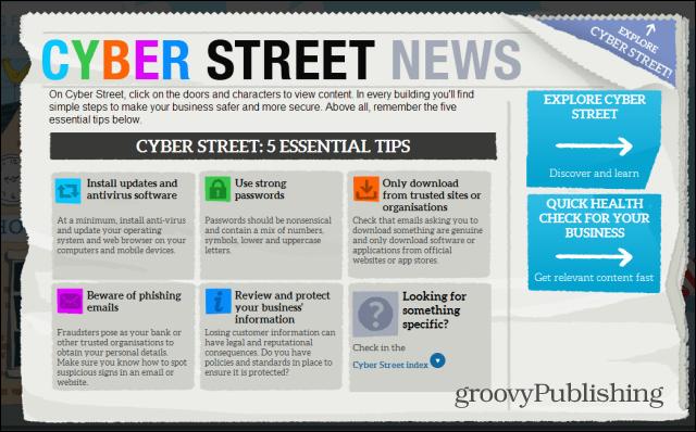 Cyber Street business