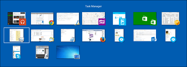 Switch Tasks Desktop and Modern