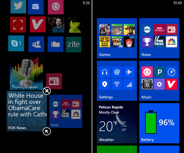 Nokia Lumia App Folder