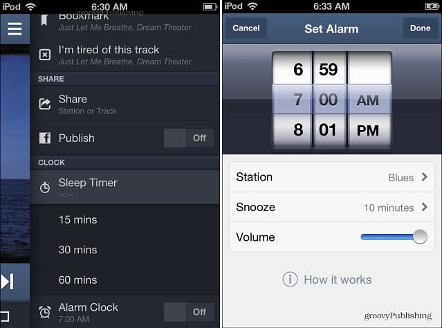 Set Pandora Alarm