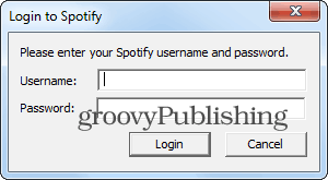 Spotiamp login