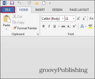 making a pamphlet in word 2013
