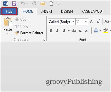 Cómo crear folletos usando Microsoft Word 2013