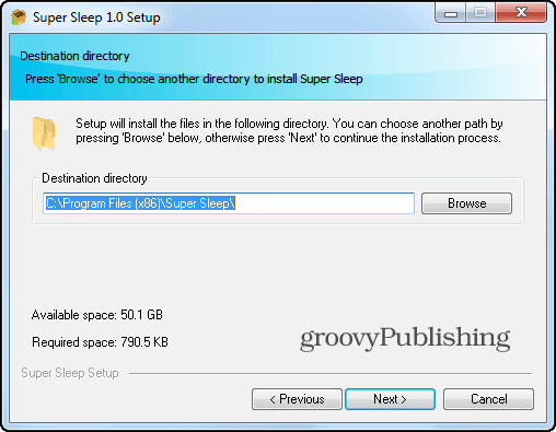 supersleep install