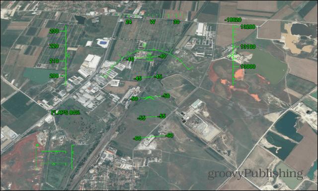 Google Earth Flight Simulator fly