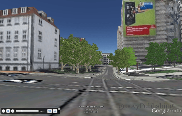 Google Earth Record a Tour watch